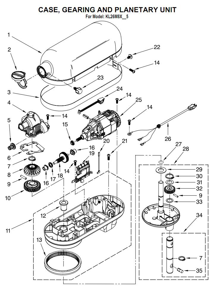 Kitchenaid Blender Service Manual - Kitchen Design