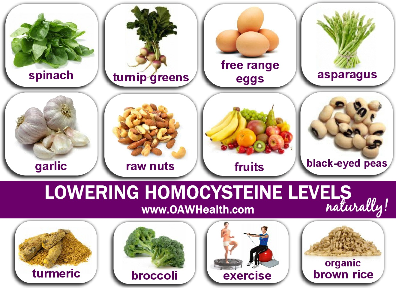 Lowering Homocysteine Levels Naturally