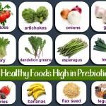 foods high in prebiotics