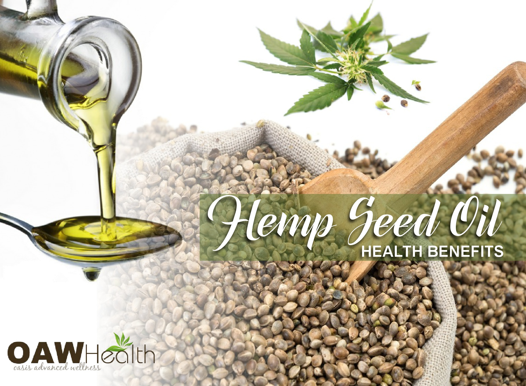 Health Benefits of Hemp Seed Oil