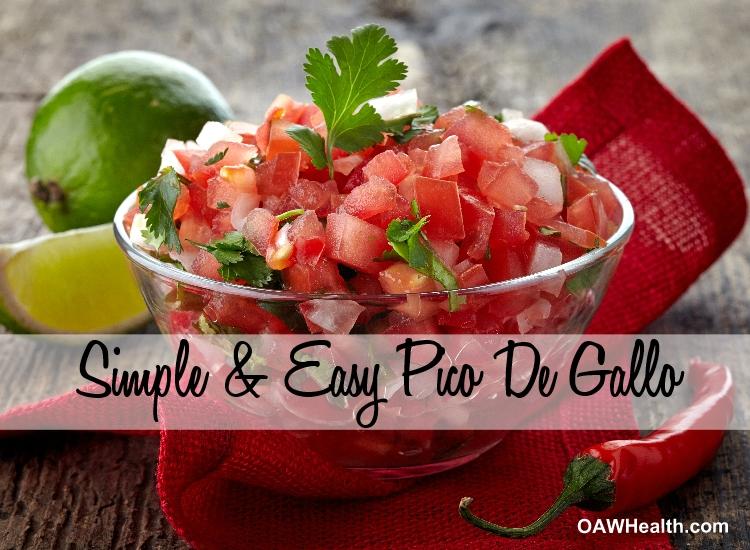 Simple & Easy Pico De Gallo Recipe