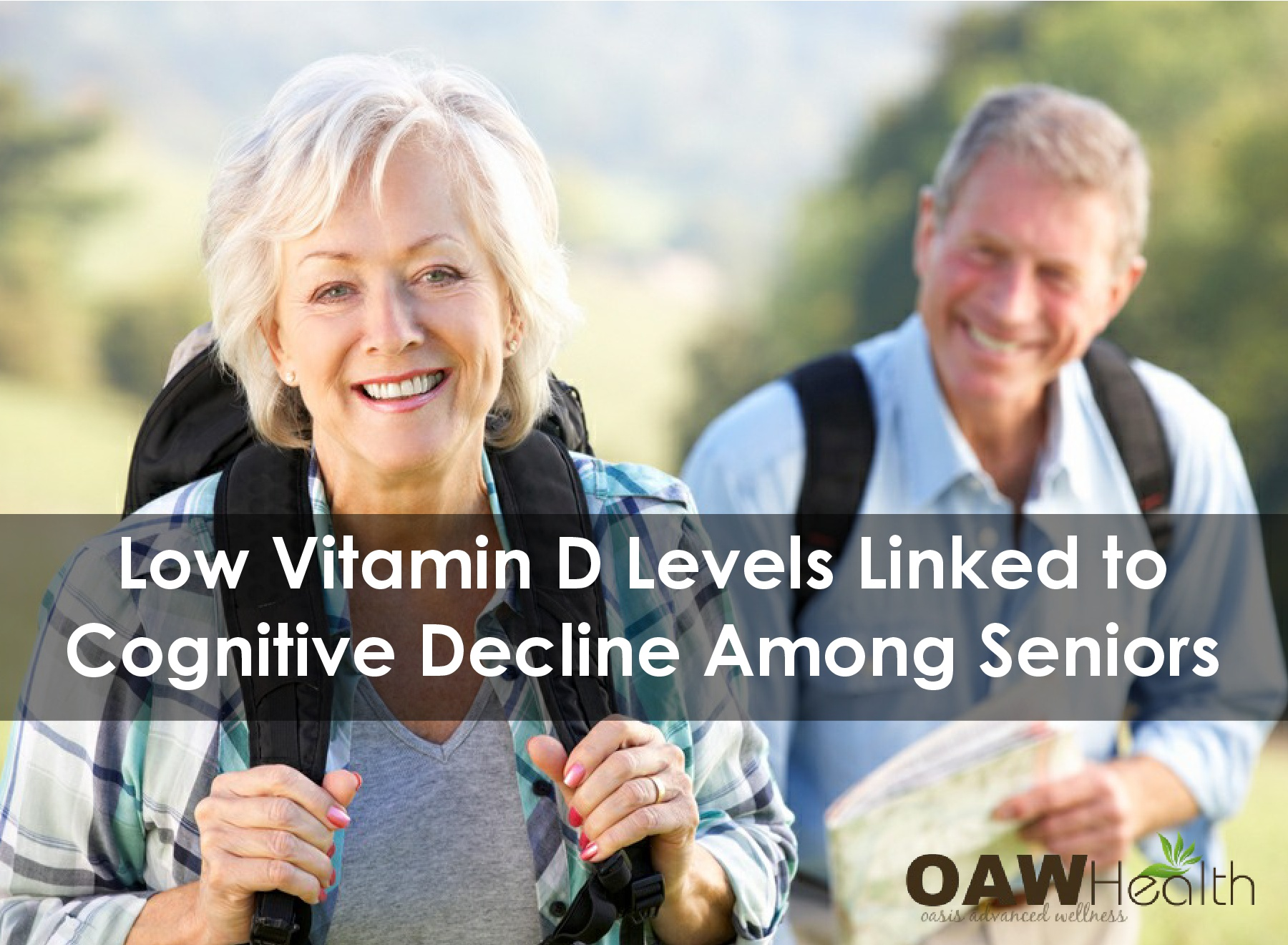 Low Vitamin D Levels Linked to Faster Cognitive Decline in Seniors