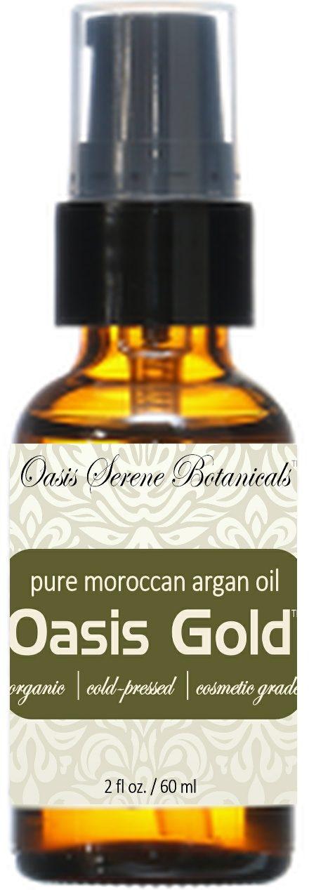Oasis Gold™ Organic Moraccan Argan Oil