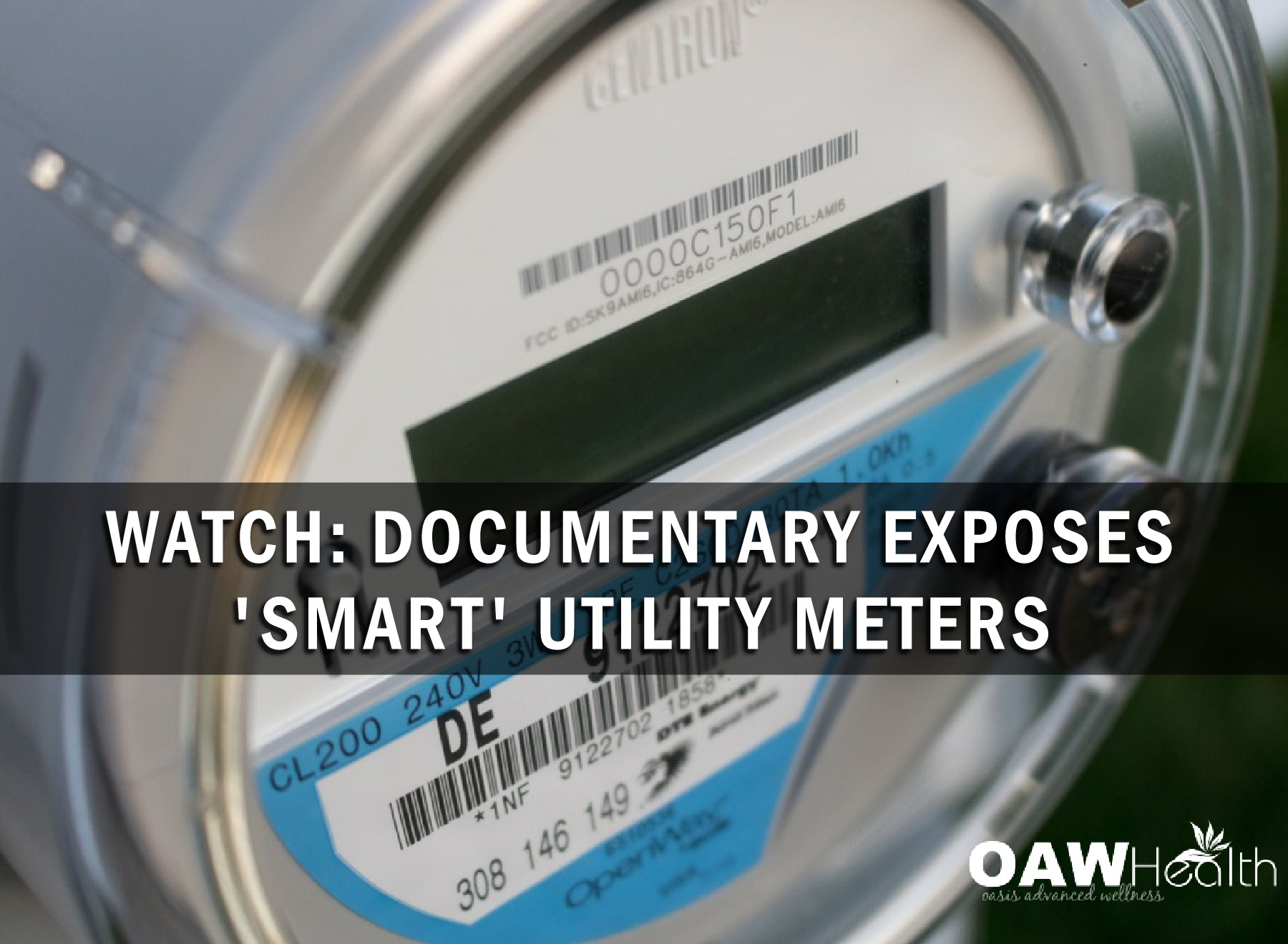 WATCH: Documentary Exposes 'Smart' Utility Meters