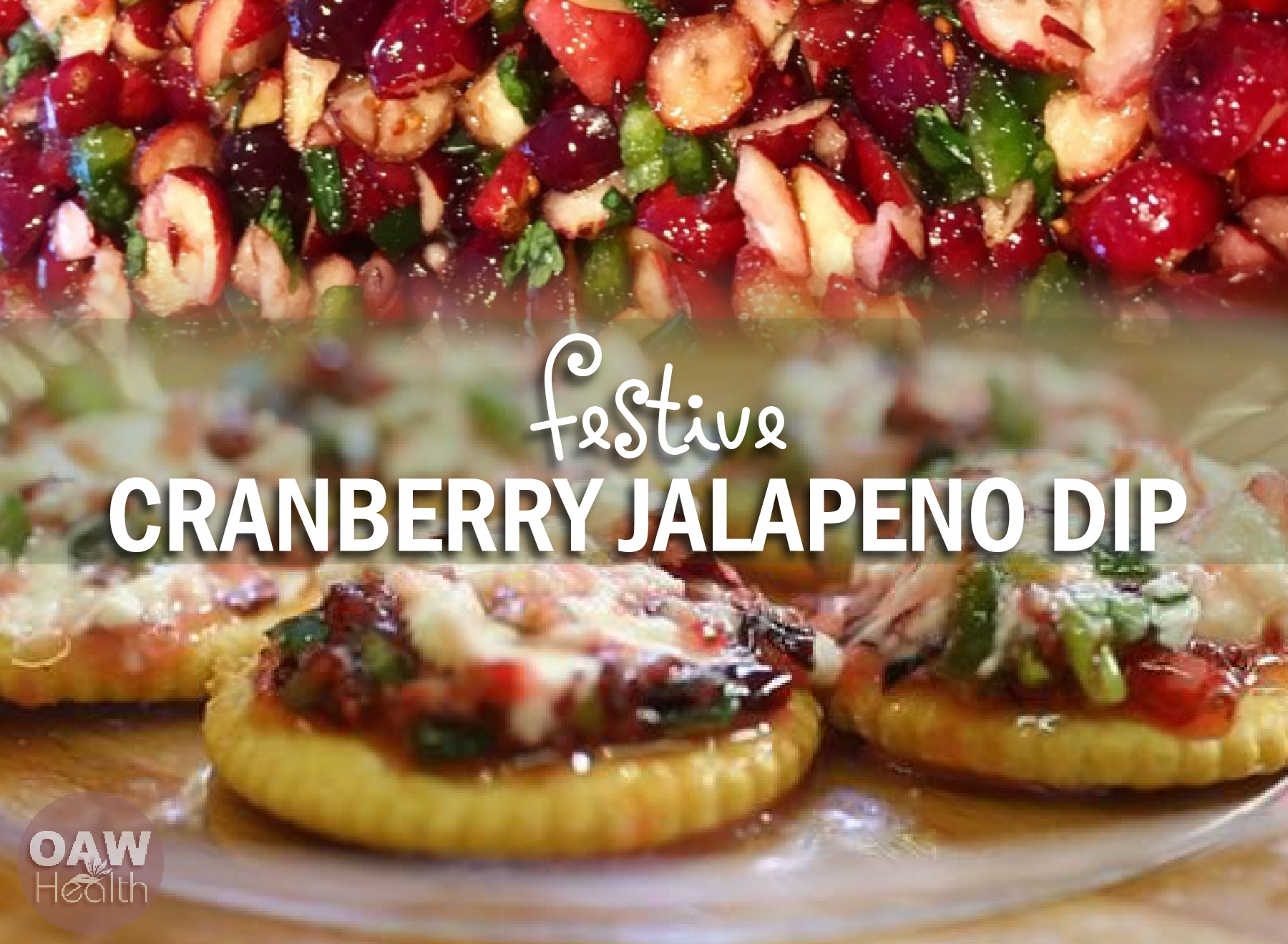 Festive Cranberry Jalapeno Dip