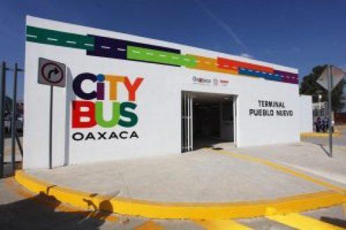 Alejandro Murat da inicio a los trabajos de semaforización inteligente del corredor poniente del CityBus Oaxaca