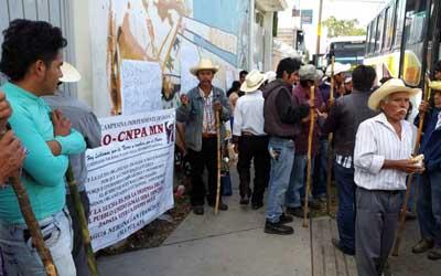 Protesta UCIZONI en CDI