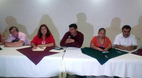 Pide Morena libertad de líderes de la CNTE