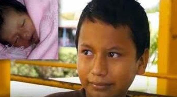 Niño mexicano es el padre más joven del mundo