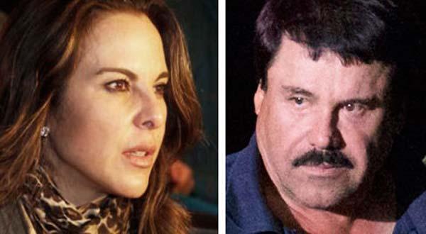 """Revelan conversación privada entre el """"Chapo"""" y la actriz Kate del Castillo"""