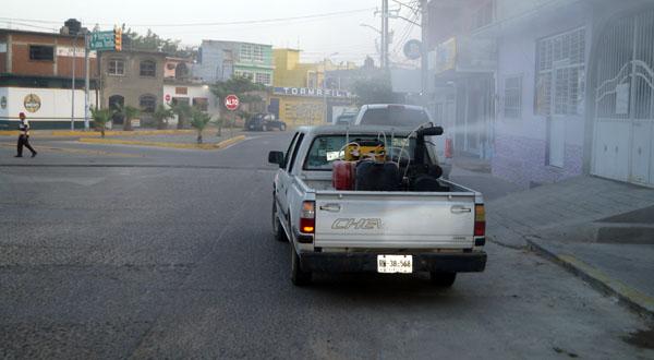 El Gobierno Municipal implementa acciones contra el zika en Salina Cruz