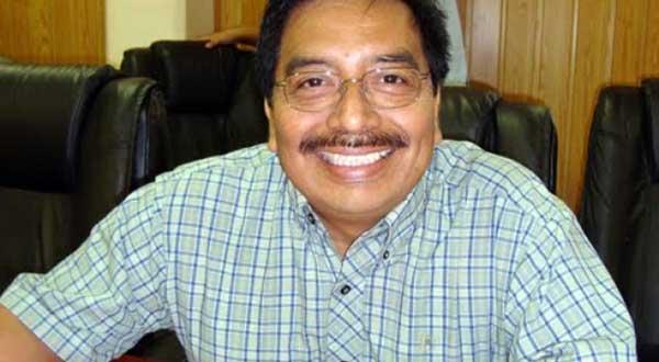El polémico líder de la CTM, Hipólito Rojas Martínez, fue amenazado con una manta y dos cabezas de cerdo