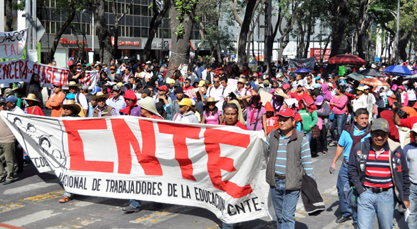 La CNTE no cede: vela armas en espera del decreto derogatorio de la reforma educativa… que no llegará