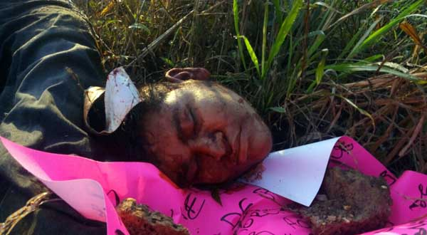Decapitan a hijo de abogado que fue ejecutado en Tuxtepec