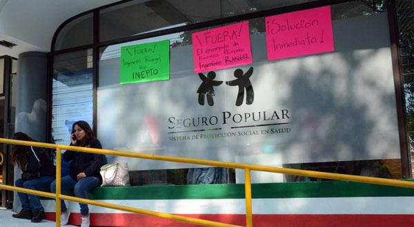 Denuncian corrupción en el Seguro Popular