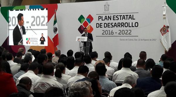 Plan Estatal de Desarrollo, al fin