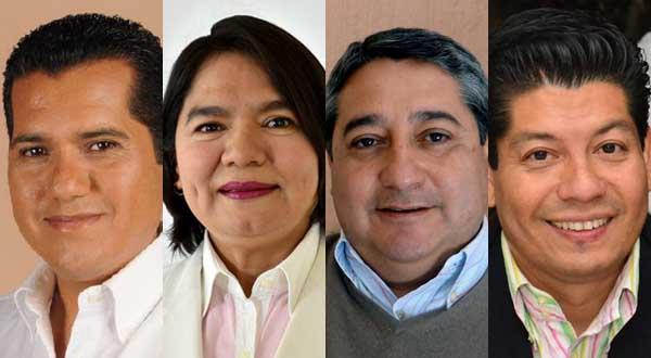 Cinco al proceso electoral; dos a su casa