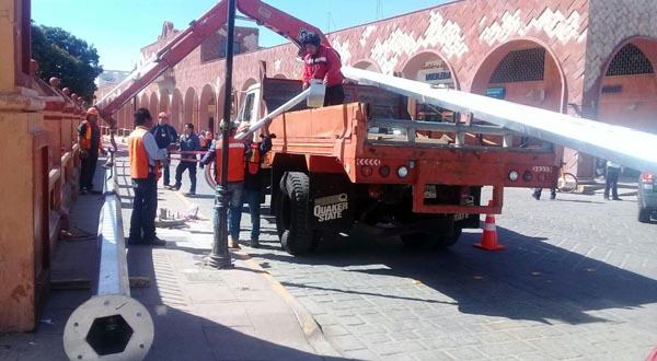 Instalan cámaras de seguridad en Huajuapan
