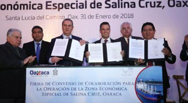 ZEE puerta de desarrollo para Oaxaca