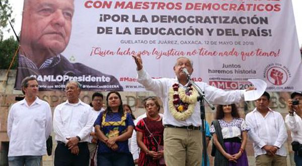 AMLO/CNTE: Abrogación de Reforma, el engaño