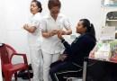 Llevan alumnos de enfermería feria de la salud a la Cañada 7 Ranchos