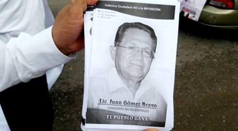 Invalidarán votos a candidato no registrado en Huajuapan