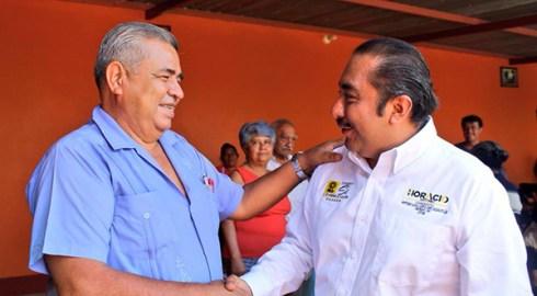 Fomentar leyes en temas de bienestar social y educación; propone Horacio Antonio