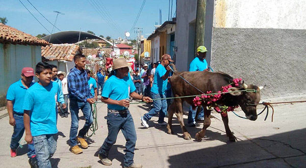 Celebra Santiago Tamazola su fiesta patronal