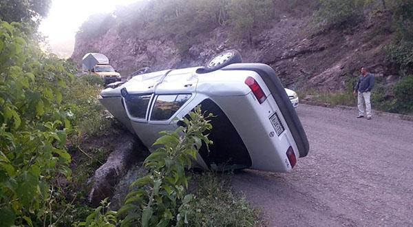 Se accidente trabajador de cooperativa en Huajuapan