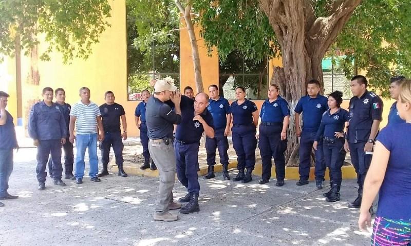 Mantiene Gobierno de Salina Cruz profesionalización de policías