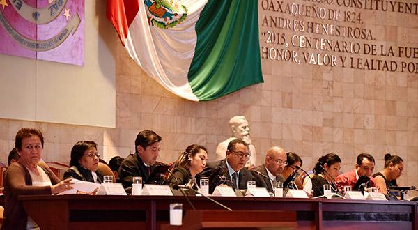 Aprueban Diputados presupuesto 2019 para desarrollo de Oaxaca