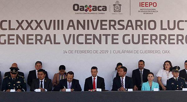 Rememora Congreso Local legado de Vicente Guerrero