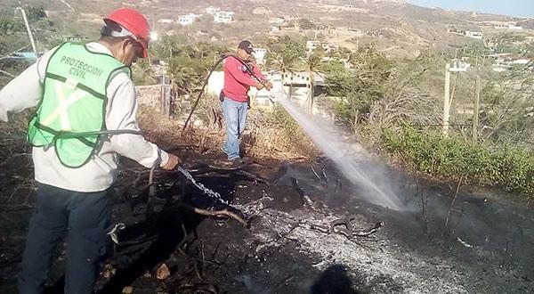 Se incrementan los incendios en Salina Cruz