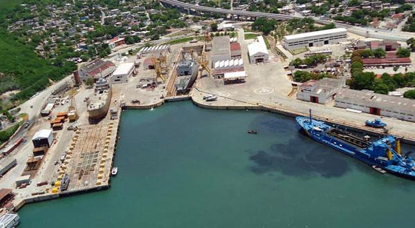 El puerto sin infraestructura para el movimiento de carga
