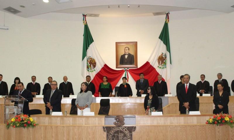 Clausura poder judicial primer periodo ordinario de sesiones