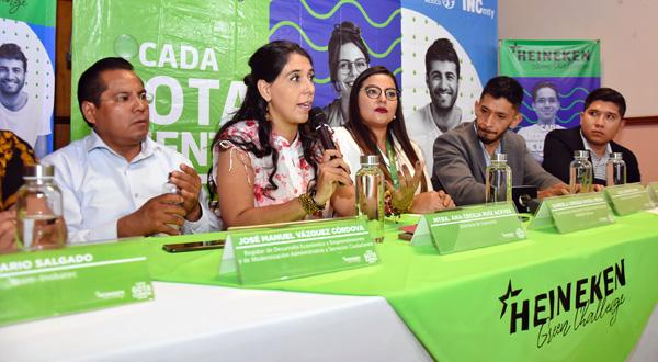 Convocan a emprendedores oaxaqueños a participar en el Heineken Green Challenge 2019