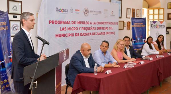 Presentan Gobierno de Oaxaca de Juárez y IODEMC convocatoria para fortalecer la economía formal