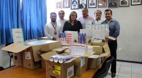 DIF de Oaxaca de Juárez contribuye a mejorar atención hospitalaria con donación de medicamentos