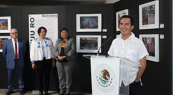 Jacciel Morales y su obra  Xuu Ro'