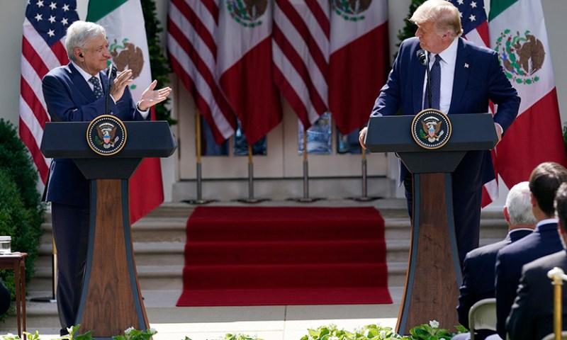 AMLO/Trump: Halagos y omisiones