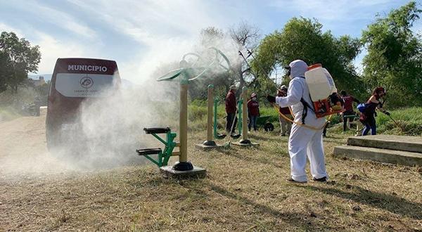 Rehabilita Ayuntamiento de Oaxaca espacios de uso común en la colonia Arboleda