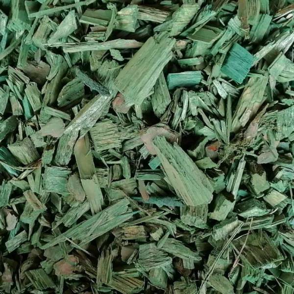 prirodni dekorativni malc - zeleni