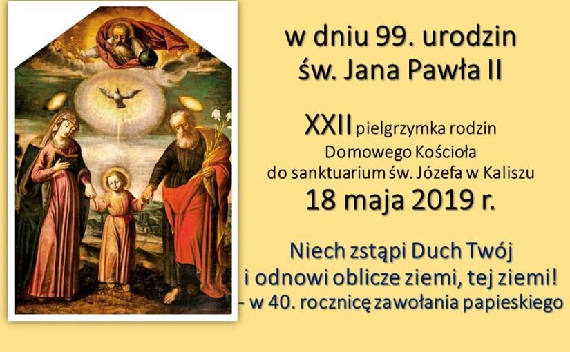Ogólnopolska pielgrzymka DK do Kalisza | 18 maja
