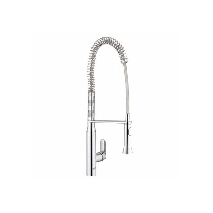 grohe k7 professional sink mixer 32950000 chrome swivel spout professional shower