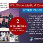 LSE & UCT Fully-funded scholarship