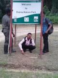 Bonny Nature park enterance