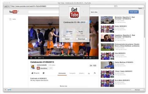 Get Tube video downloader for mac