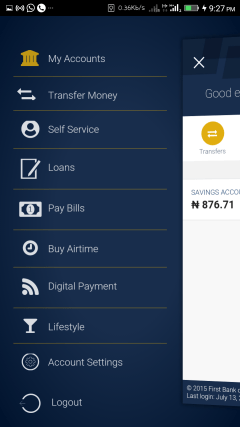 How to use First Bank Mobile App