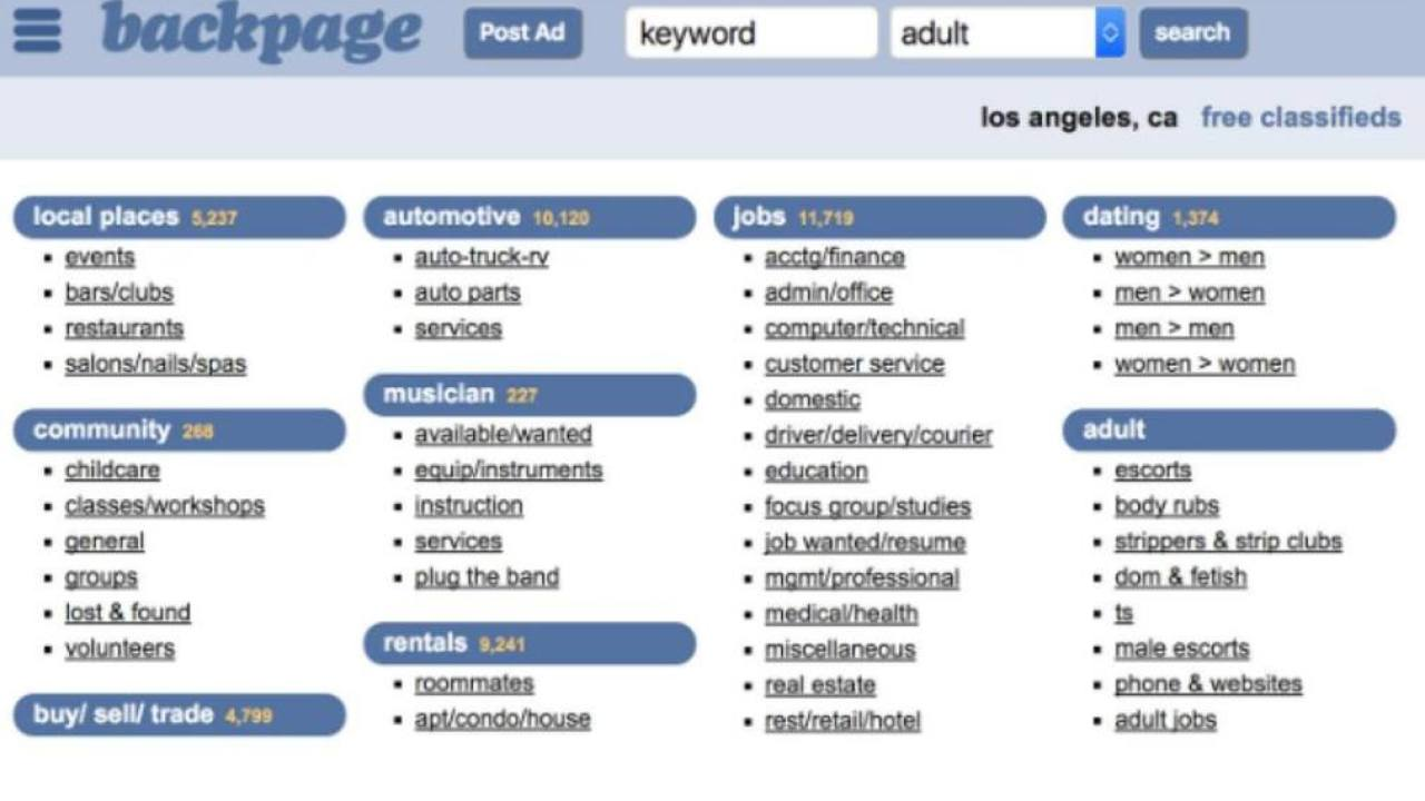 10 Best Backpage Alternatives for Placing Classified Ads in 2020