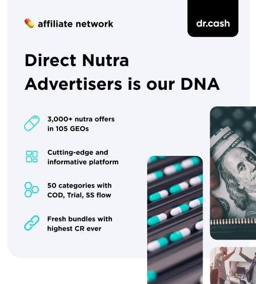 dr.cash affiliate network